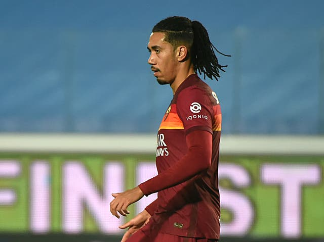 Roma centre-back Chris Smalling