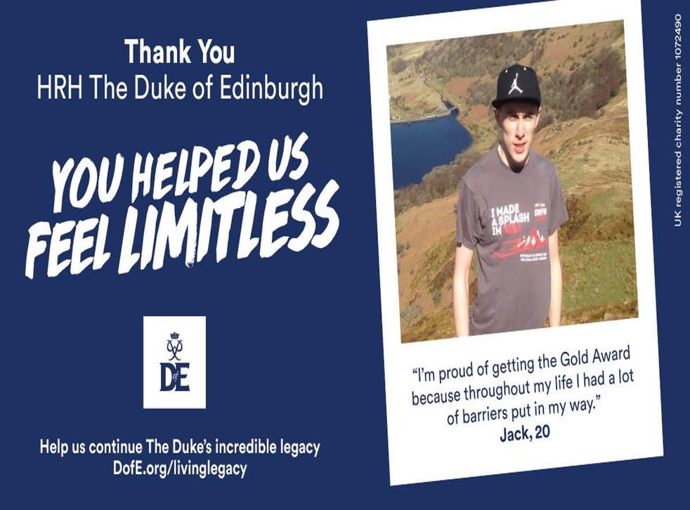 Duke of Edinburgh billboard
