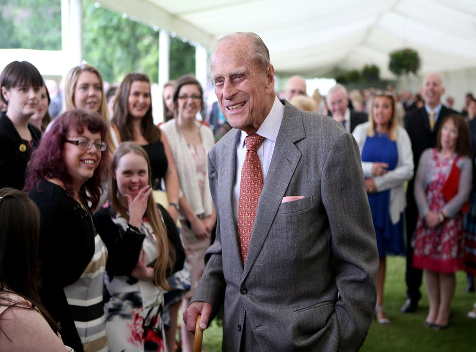 File photo dated 06/07/17 of the Duke of Edinburgh attending the Presentation Reception for The Duke of Edinburgh Gold Award holders in the gardens at the Palace of Holyroodhouse in Edinburgh. The Duke of Edinburgh's Award is likely to be judged Prince Philip's greatest legacy. Issue date: Friday April 4, 2021