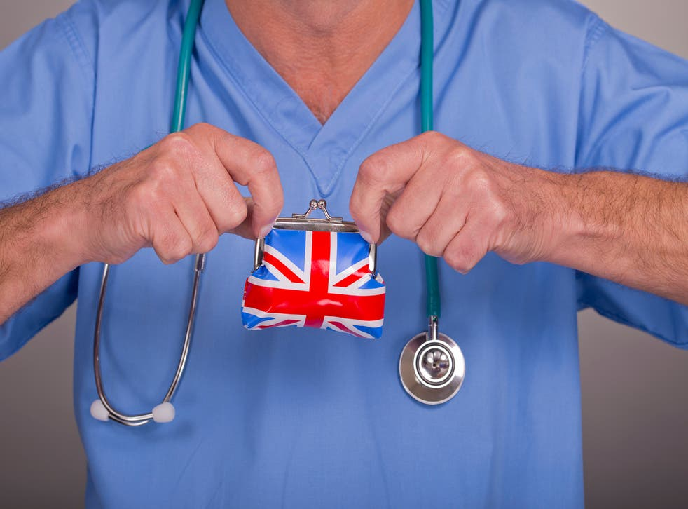<p>NHS to be given extra £6.6bn to cover cost of Covid, but this won't extend to NHS staff pay</p>