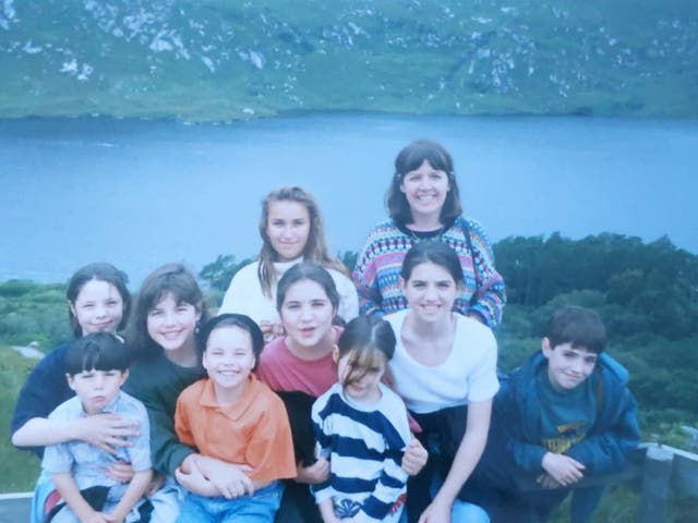 <p>Trip in time: Family holidays to Northern Ireland were an intrinsic part of childhood for Sally</p>