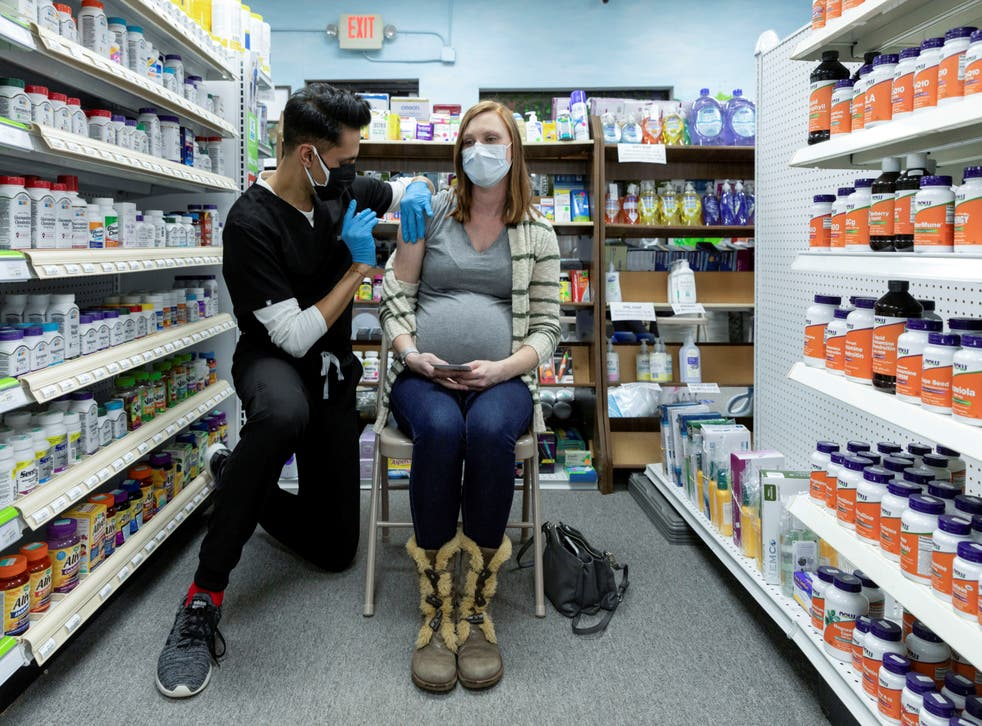 <p>About 90,000 pregnant women have been vaccinated in the US without any safety concerns being raised</p>