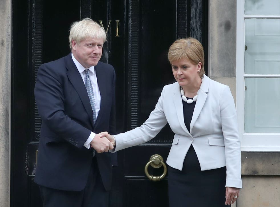 <p>'Quite agree, Nicola: the goalposts are now over there'</p>