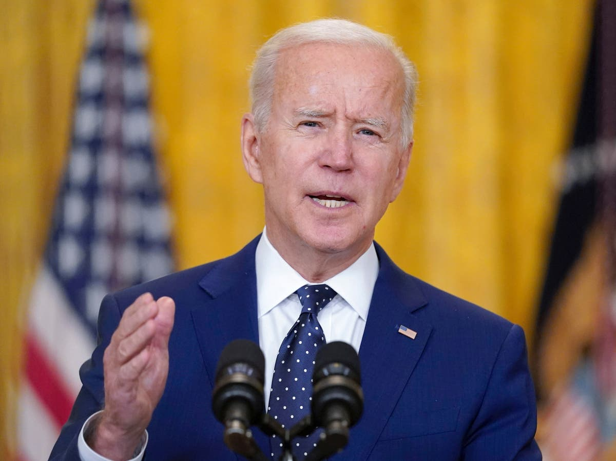 Biden news - live: White House condemns 'chilling' Toledo shooting video as Trump refugee cap to be reversed