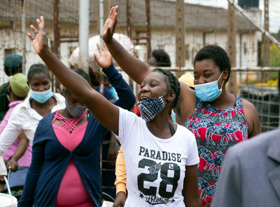 Virus Outbreak Zimbabwe Prisons Amnesty