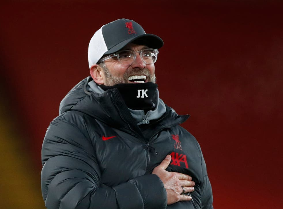 Liverpool coach Jurgen Klopp will be relieved by the recoveries of his injured players