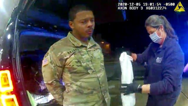 Racial Injustice Black Soldiers Police