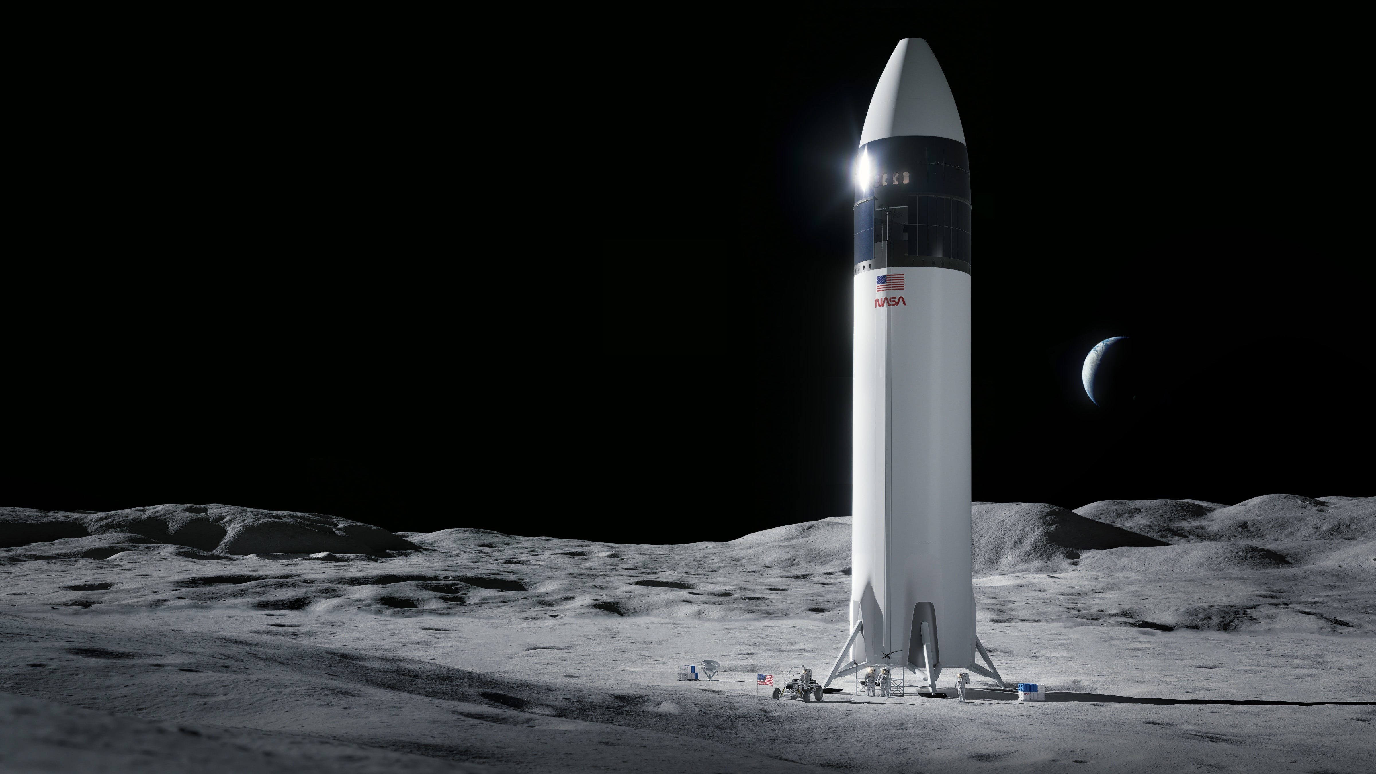 independent.co.uk - Andrew Griffin - Elon Musk's SpaceX has won a $3 billion contract to put humans on the Moon - but the full mission will take far more than that