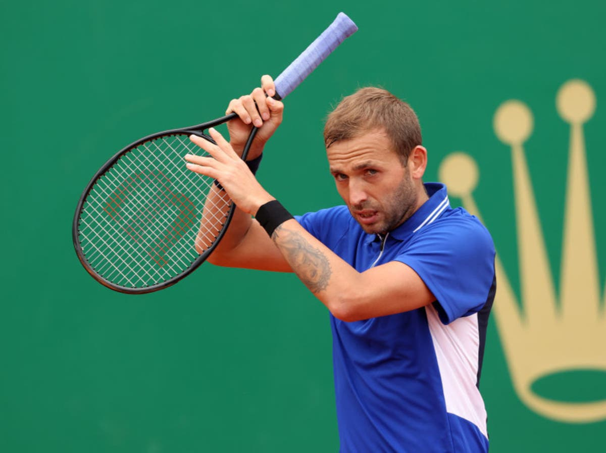 Dan Evans' dream run at Monte-Carlo Masters ended by Stefano Tsitsipas in semi-finals