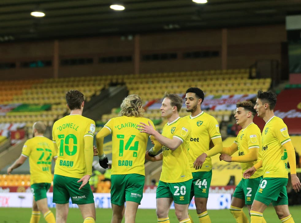 Norwich will finish in an automatic promotion spot no matter what happens now