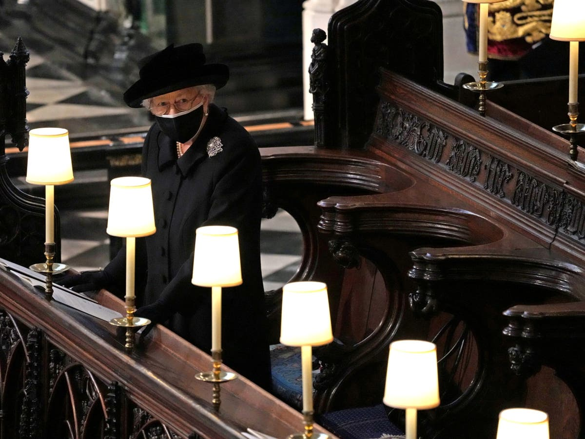 Royal family say final farewell as Prince Philip laid to rest