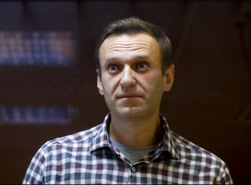 <p>Jailed opposition leader Alexei Navalny is on hunger strike</p>