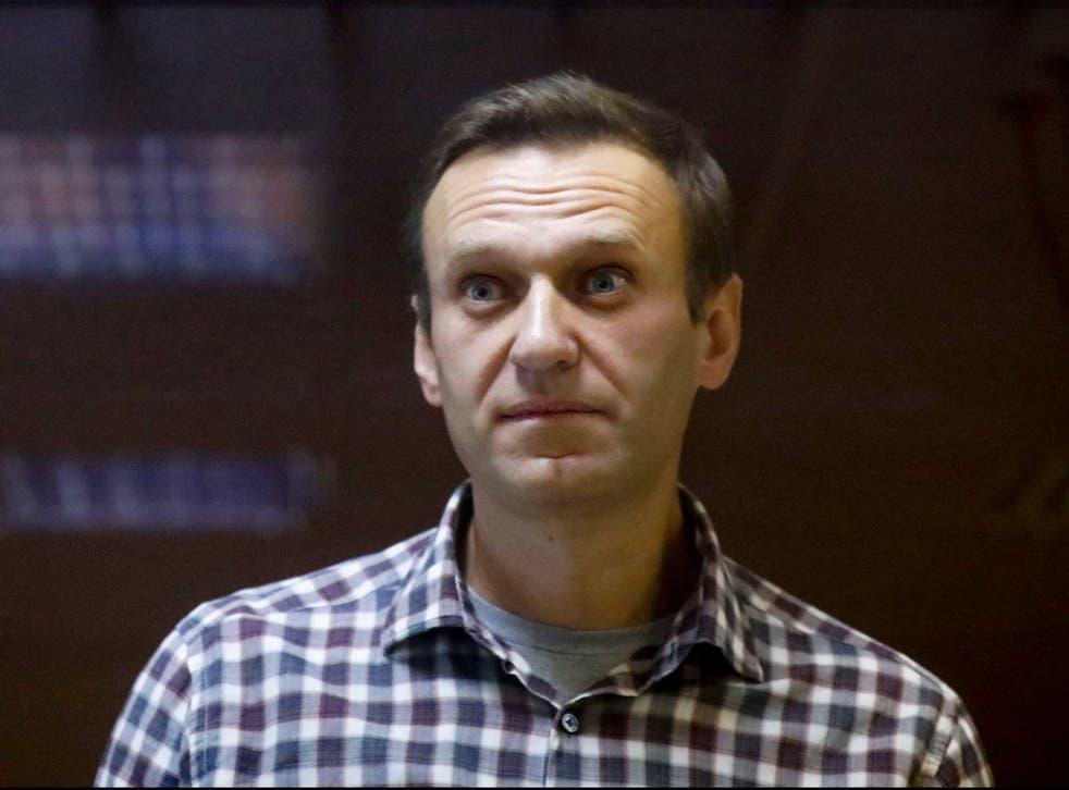 <p>Jailed opposition leader Alexei Navalny is on hunger strike</p>
