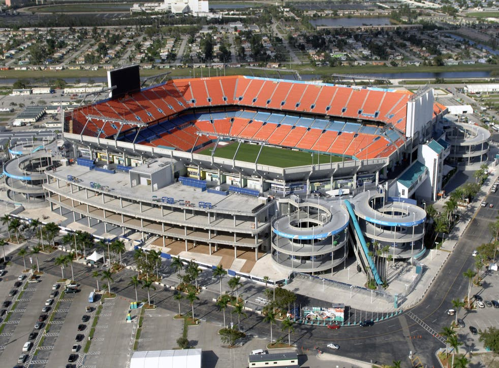 <p>The Hard Rock Stadium will host the grand prix from 2022</p>