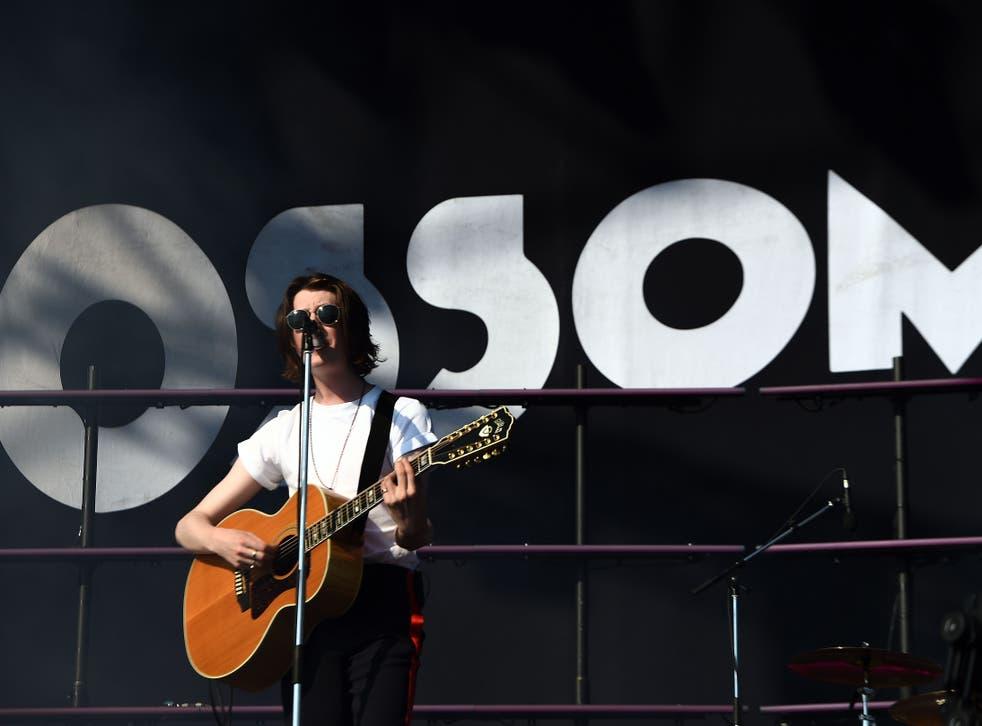 Blossoms' Tom Ogden at TRNSMT festival in 2018