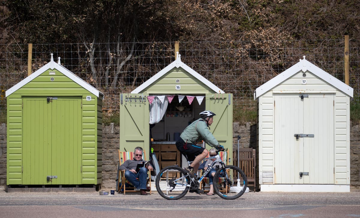 Beach hut prices soar by 40% with some costing £325,000