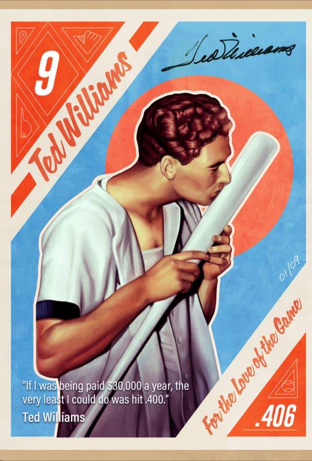 Ted Williams NFTs Baseball