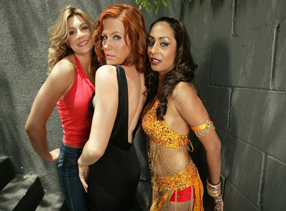 """<p>File image: Cerina Vincent, Elisa Donovan and Kashmira Shah pose for a portrait on the set of """"The Prince, The Pimp, The Jackal And The Spayed"""" in 2007</p>"""