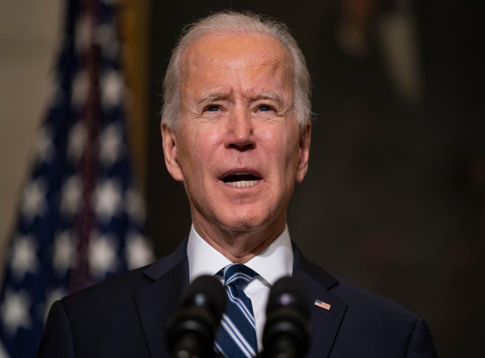 <p>US president Joe Biden</p>