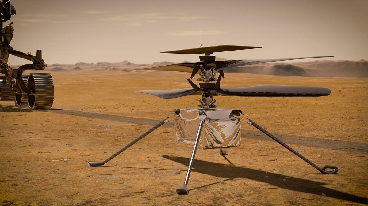 Nasa's Ingenuity helicopter set for first flight on Mars: When will it be and how to follow