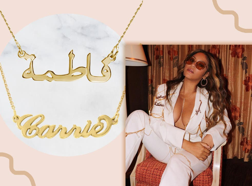 <p>Channel your inner Queen B with one of these custom jewellery pieces</p>