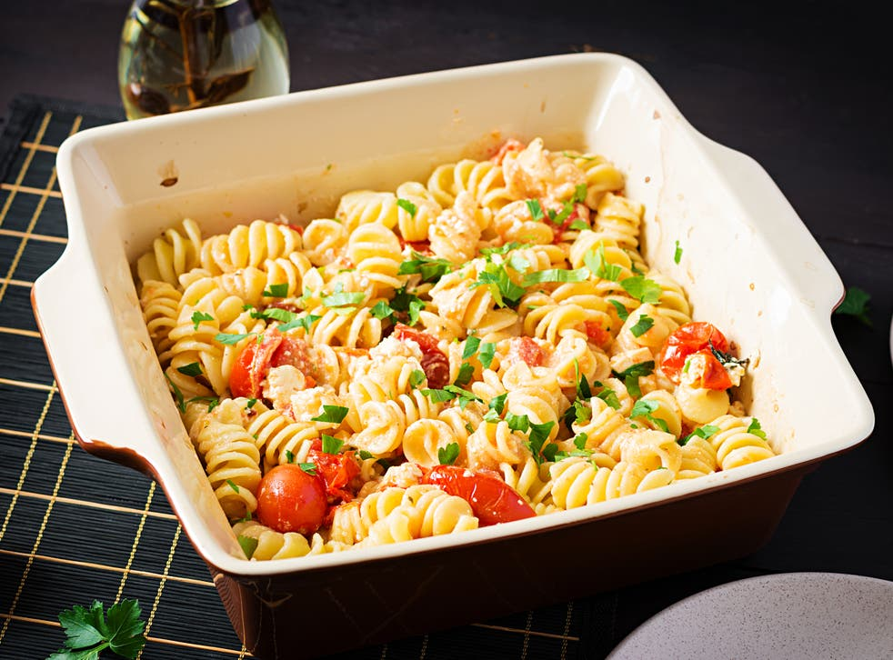 <p>Streamline the cult recipe by chucking everything, including the pasta, together in one pot to bake in the oven</p>