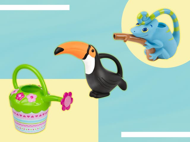 <p>Watering plants is a great way for children to develop their motor skills</p>