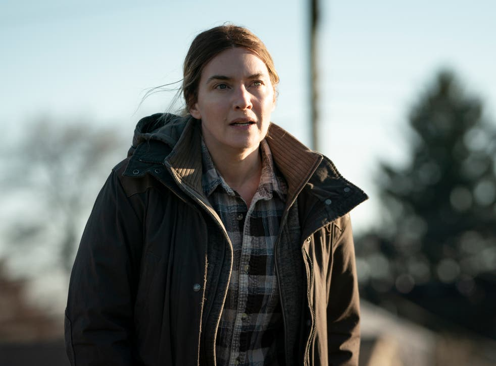 <p>Winslet seems to relish the challenge of the accent and the depressing setting</p>