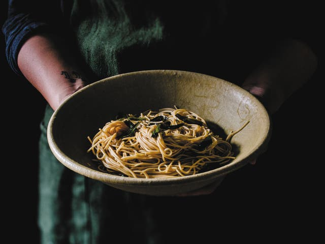 <p>'A quintessential, old Shanghai dish – a humble, yet extremely satisfying, bowl of noodles'</p>
