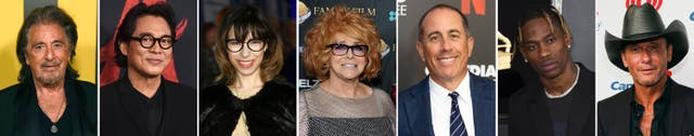 Celebrity Birthdays - April 25-May 1