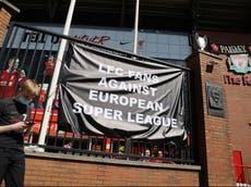 European Super League news LIVE: Boris Johnson vows to block plan as Premier League 'big 6' condemned