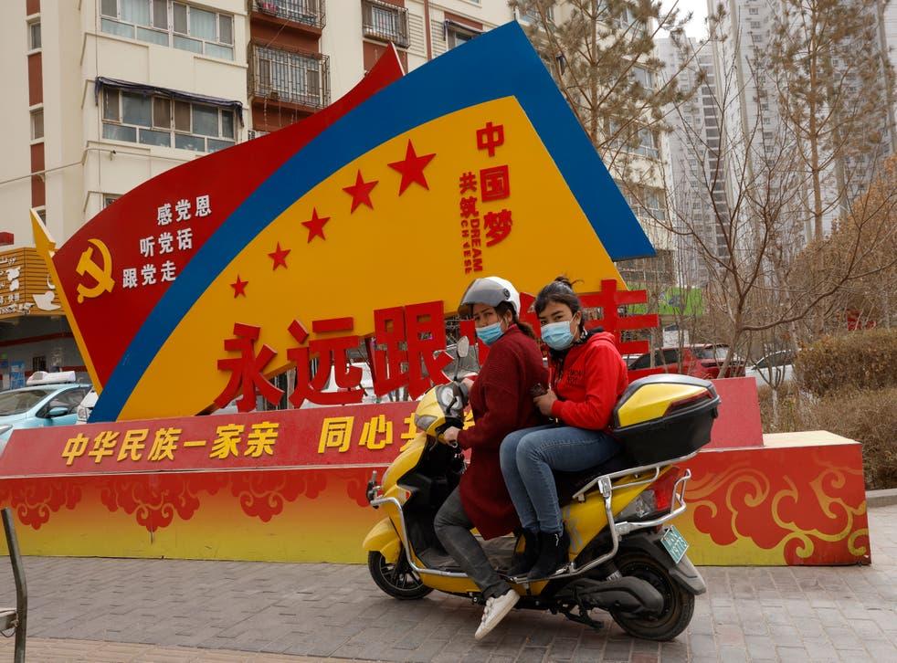 CHINA-DERECHOS HUMANOS