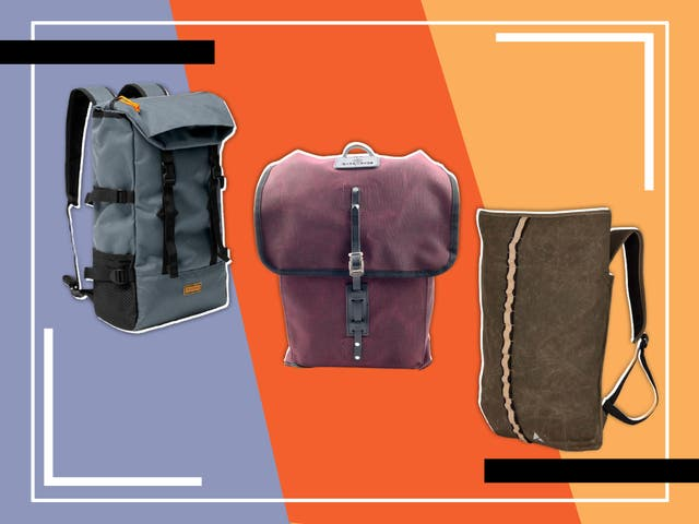 <p>Some have built-in sleeves for laptops and tablets, while others have outside pouches for water bottles, plus reflective strips to help you stand out at night</p>