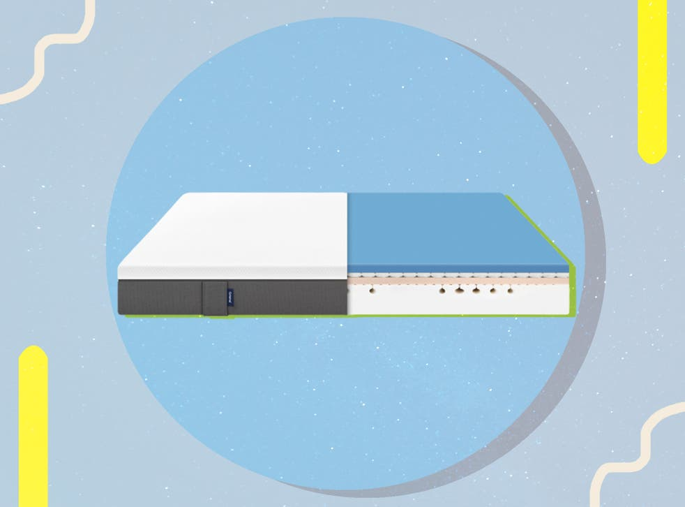<p>The mattress boasts four layers, with each focused on a different aspect of improving sleep quality</p>