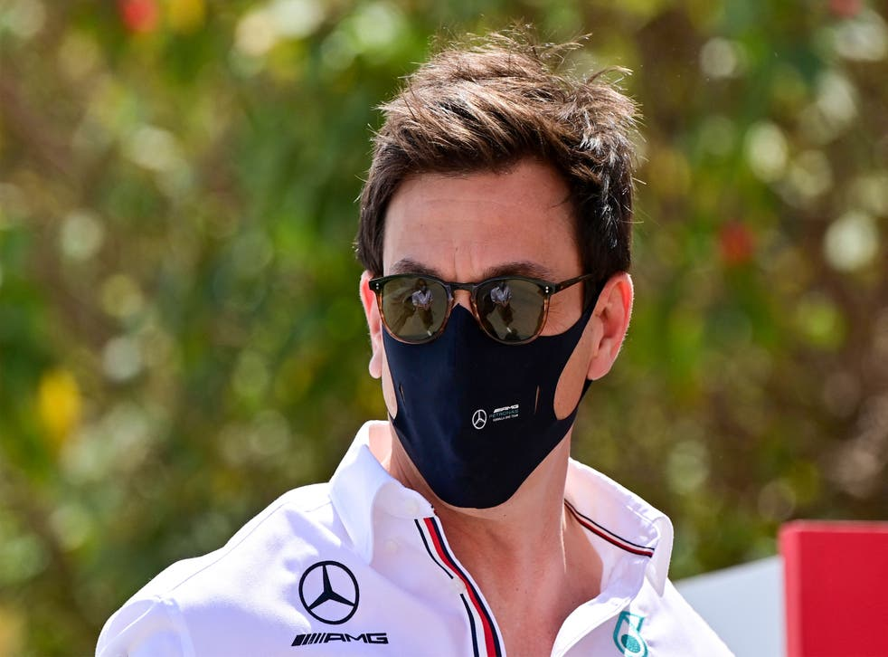 <p>Toto Wolff said he will talk to Russell and address the issue </p>