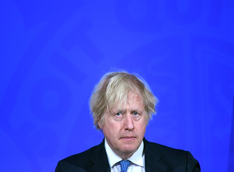 <p>Boris Johnson is reportedly set to announce a new pledge to cut the UK's emissions by 78 per cent by 2035, when compared to levels in 1990</p>