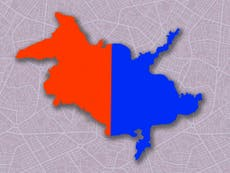 Can you tell the difference between an inkblot and a gerrymandered congressional district?