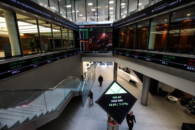 <p>File image: FTSE 100 posts the biggest jump on Wednesday since February </p>