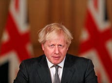 Live: Boris Johnson accused of 'false promises' on NI