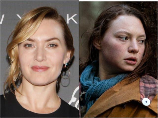 Kate Winslet (izquierda) y Mia Threapleton en Shadows (derecha)