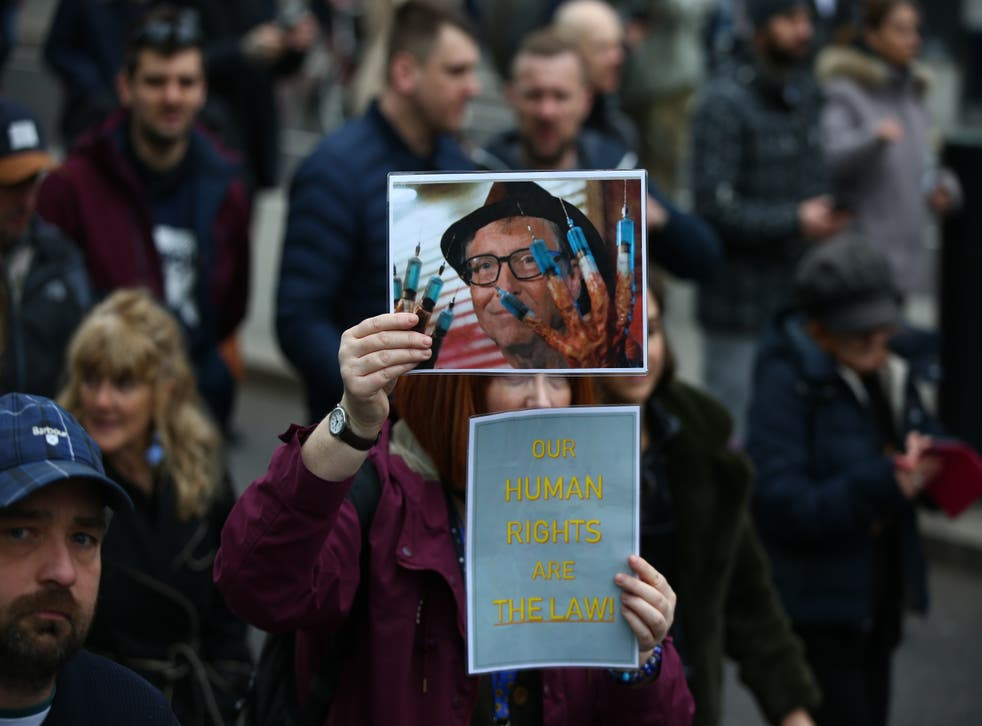 <p>One conspiracy with no factual basis was that the Bill and Melinda Gates Foundation had 'malicious intent' related to the pandemic</p>