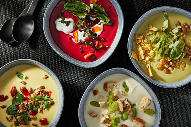 <p>Soup is the easiest way to embrace the 'throw it all in' mentality</p>