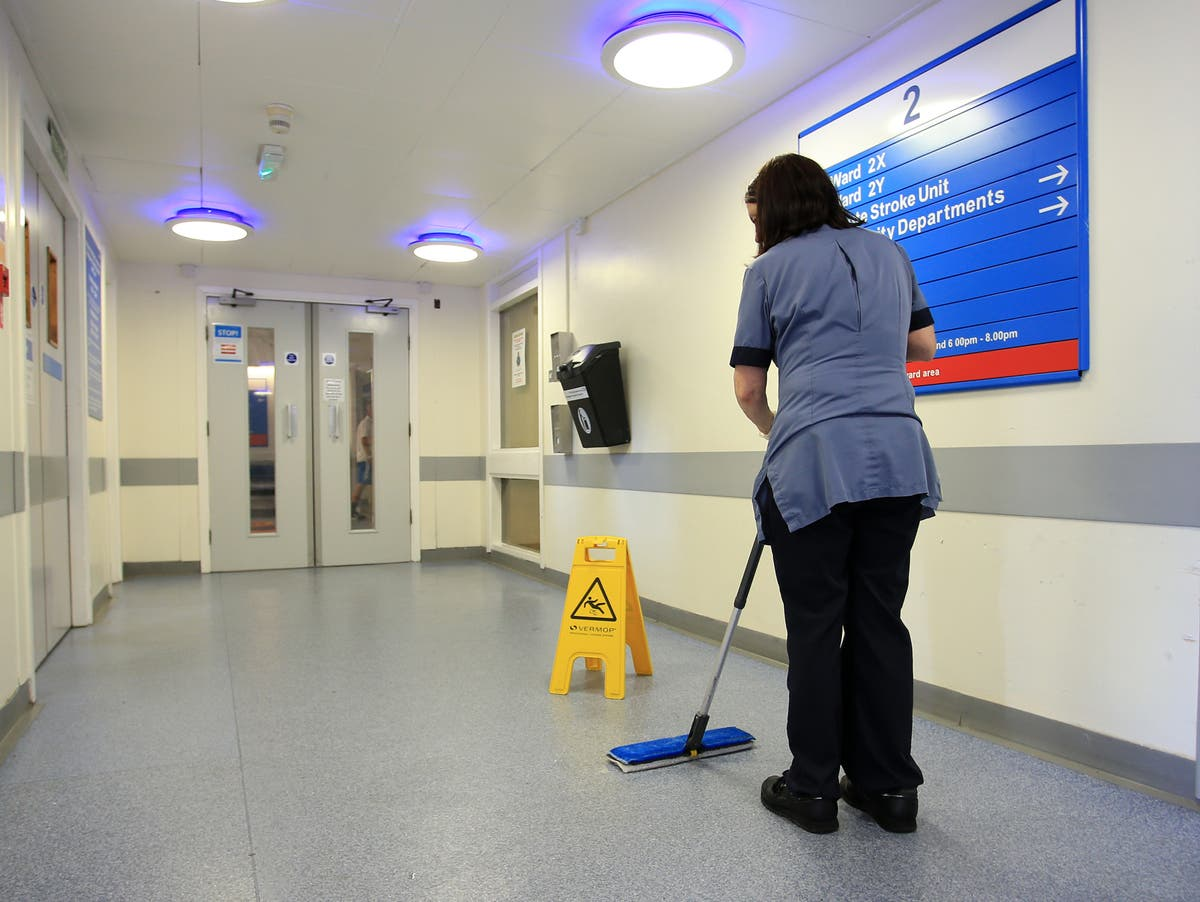 Ageing NHS hospitals hit by sewage leaks and power failures as maintenance backlog hits £9 billion