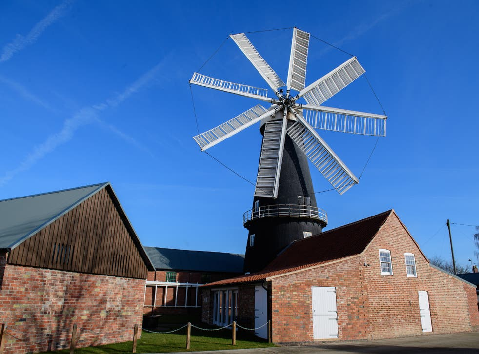 <p>Going Dutch: You'll find the unique eight-sailed Heckington Windmill near the port town of Boston,  which shares a long history with Holland</p>