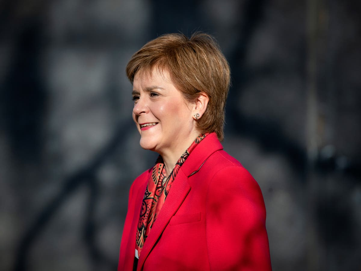 What time is Sturgeon's lockdown announcement today?