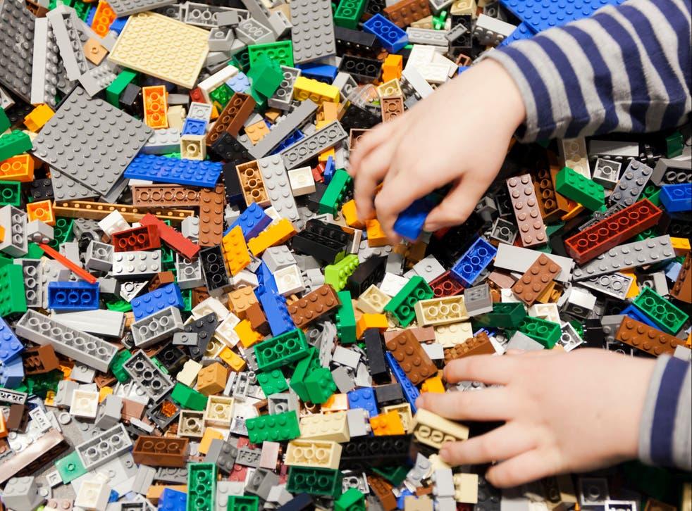 Lego manufactures around 100,000 tonnes of plastic blocks each year