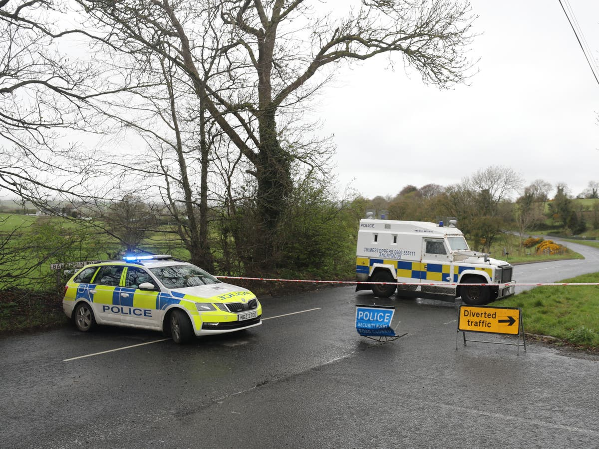 Explosive device found under car of female police officer in Northern Ireland