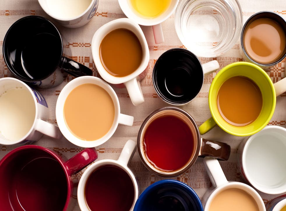 <p>It seems we're divided on what tea colour is the best.</p>