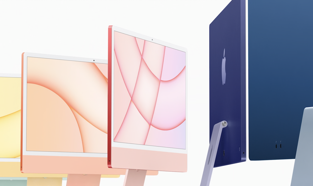 New iMac: Apple reveals colourful new desktop computers with its own chips inside
