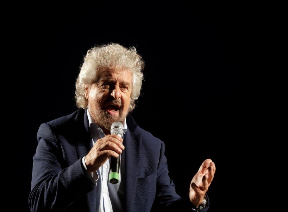 Italy-5-Star Movement-Conte-Grillo